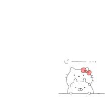 うさまる×キティの画像(プリ画像)
