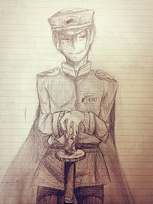 軍服×長男の画像(プリ画像)
