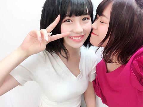 SKE48 小畑優奈 山内鈴蘭の画像 プリ画像