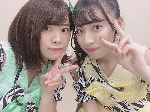 SKE48 山内鈴蘭 荒井優希の画像(プリ画像)