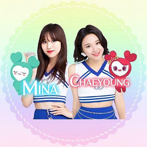ミナ&チェヨンアイコンの画像(プリ画像)