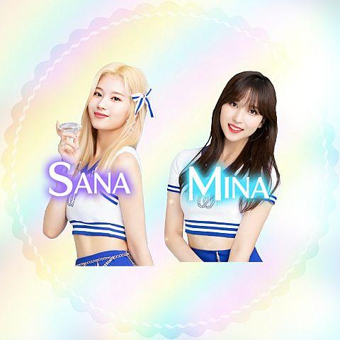 ミナ&サナアイコンの画像(プリ画像)