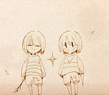 Under tale プリ画像
