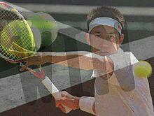 テニス プリ画像