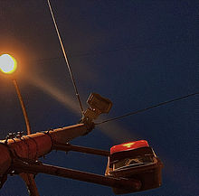 信号の画像(柱に関連した画像)