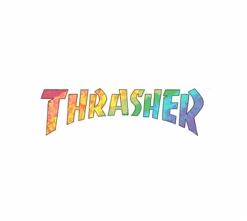 虹色スラッシャーのロゴ