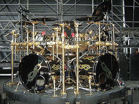 joey jordison's drumの画像(プリ画像)