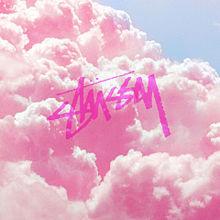 雲とストゥーシーの画像(可愛いイラストに関連した画像)