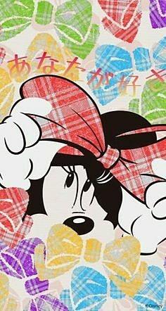 ミニーマウスの画像 プリ画像