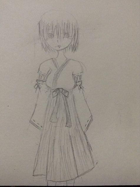 巫女ちゃんの画像(プリ画像)