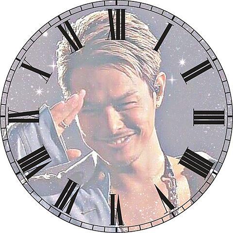 今市隆二で時計加工してみた(*´ω`*)の画像 プリ画像
