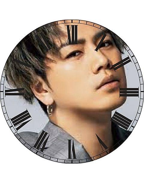 登坂広臣で時計加工してみた(*´ω`*)の画像(プリ画像)