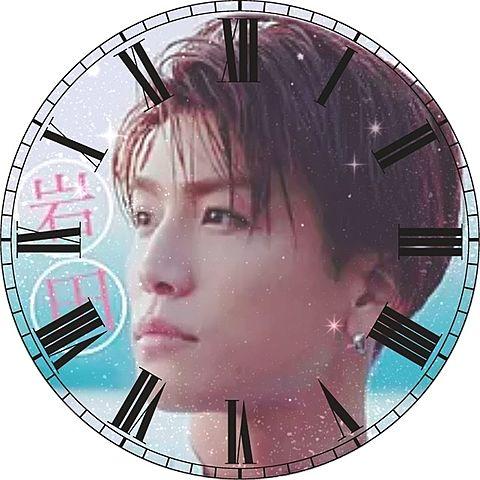 岩田剛典で時計加工してみた(öᴗ<๑)の画像 プリ画像