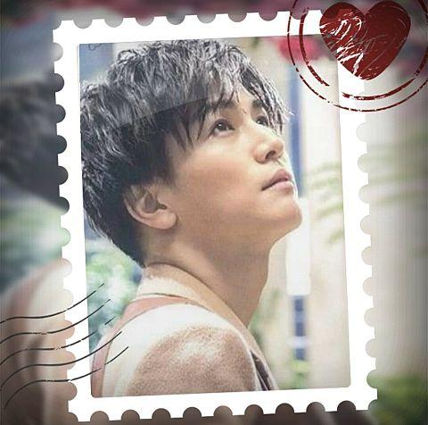 岩田剛典で切手風加工してみた(*´ω`*)の画像(プリ画像)