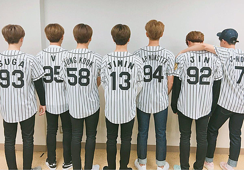 BTS 野球の画像(プリ画像)