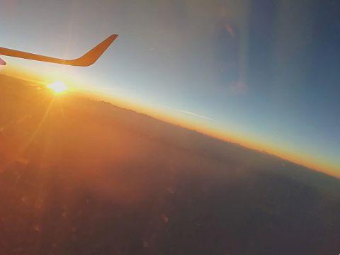 飛行機から撮った写真📸の画像(プリ画像)