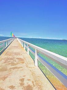 虹色の海?!奇跡の一枚👀⭐ プリ画像