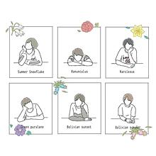 誕生花🥀の画像(誕生花に関連した画像)