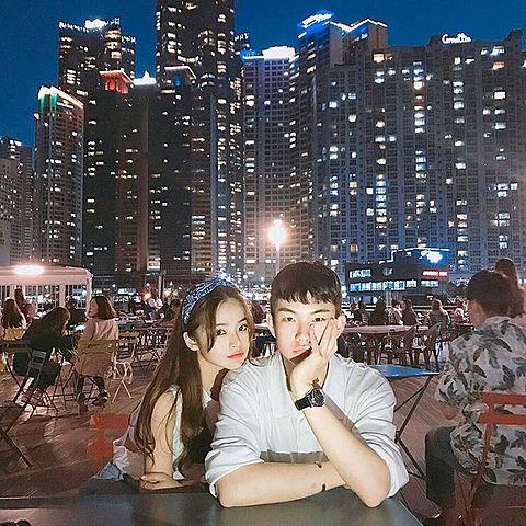 韓国カップルの画像(プリ画像)