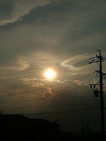 夕日 プリ画像