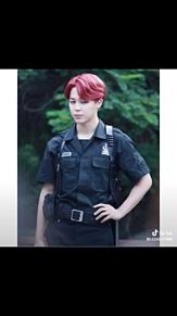 BTS  警官🚓 プリ画像