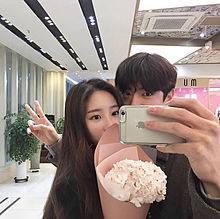 韓国カップル プリ画像