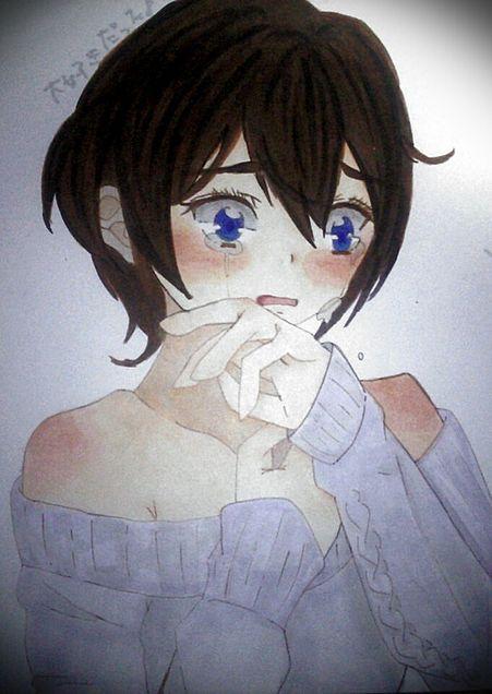 失恋?した  泣の画像(プリ画像)