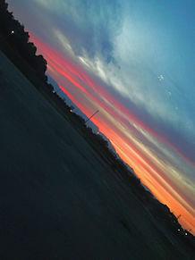 夕焼けの画像(空 風景  きれいに関連した画像)