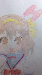 ハルヒちゃん塗ってみたの画像(涼宮ハルヒちゃんの憂鬱に関連した画像)