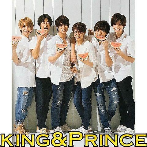 king&Prince全員集合の画像 プリ画像