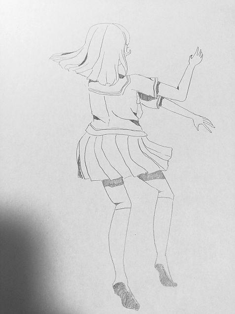 女の子イラストの画像(プリ画像)