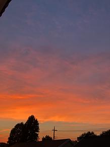 夕焼けの画像(空 綺麗に関連した画像)
