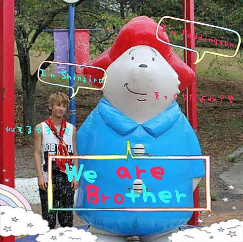 しんちゃん&パディントンの画像(プリ画像)