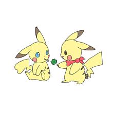 ぴかちゅー素材保存→いいねの画像(ピカチュウ/ポケモンに関連した画像)