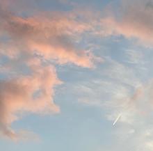 空の画像(飛行機に関連した画像)