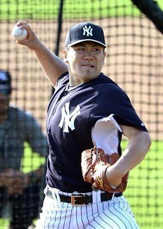 プロ野球選手の田中将大 ニューヨーク・ヤンキースの壁紙