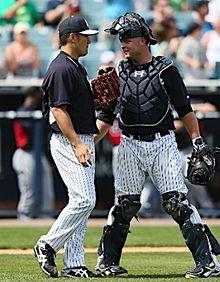 田中将大投手とマキャン捕手 プリ画像