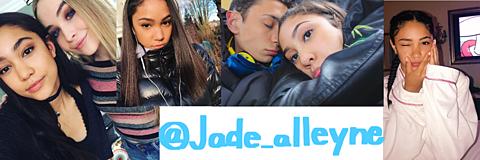 Jadealleyneのロック画面とTwitterヘッダーの画像(プリ画像)
