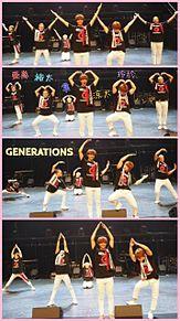 メンバーそれぞれのYMCAの画像(GENEに関連した画像)