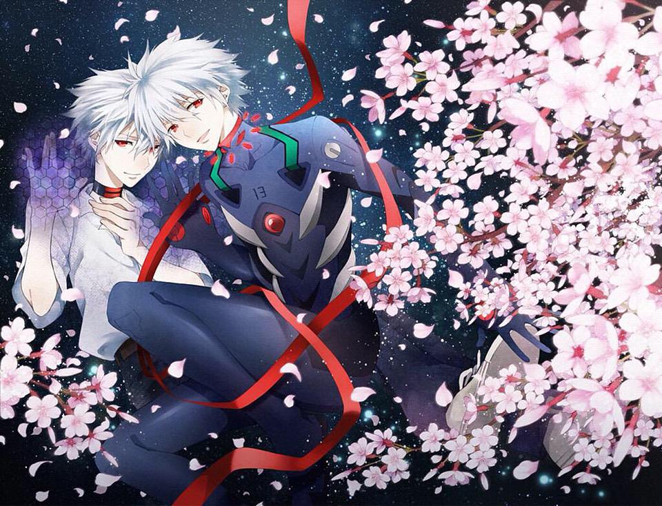 桜と渚カヲル