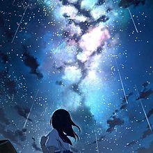 夜空 イラストの画像(夜空 綺麗に関連した画像)