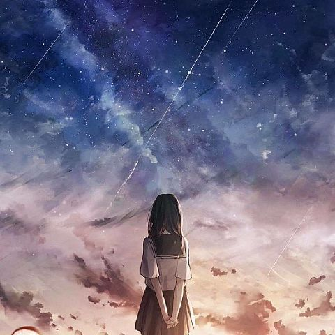 夜空 綺麗 イラストの画像262点|完全無料画像検索のプリ画像💓byGMO