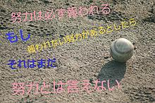 努力の画像(野球 名言に関連した画像)