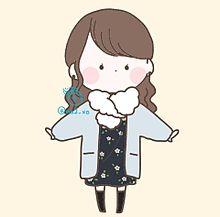 まるい女の子シリーズ コート編の画像(コートに関連した画像)