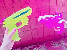 水鉄砲🔫💕の画像(鉄砲に関連した画像)