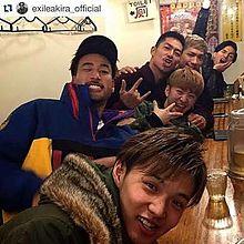 LDHメンバーで食事❣️の画像(AKIRAに関連した画像)