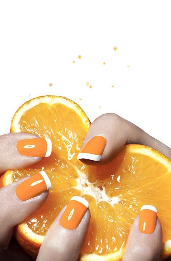 夏らしいビタミンカラーが可愛い!!平成最後の夏は「オレンジネイル」