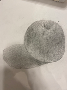 りんごのデッサン プリ画像
