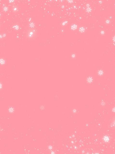 背景 ピンク 雪の結晶