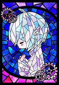 水彩銀河のクロニクルの画像(ステンドグラスに関連した画像)